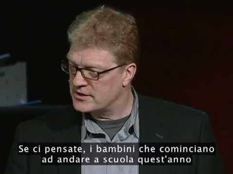 TEDItalia - Ken Robinson dice che la scuola uccide la creatività (sub ita)