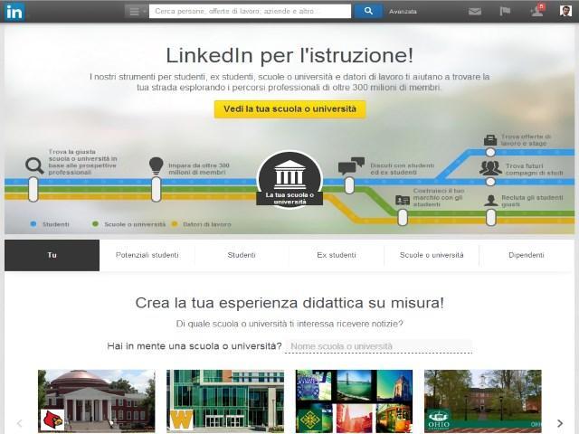 LinkedIn University Pages cos'è? Guida scelta consapevole Scuola e Università 4