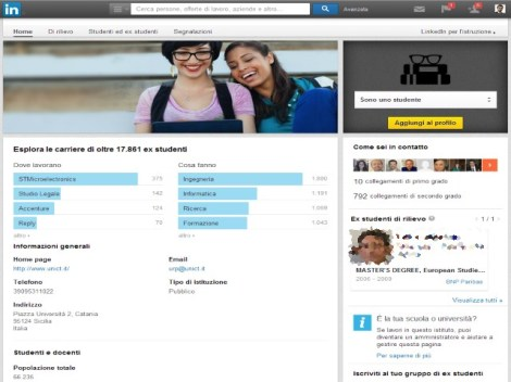 linkedin-tutorial-informaweb-university-pages-universita-catania