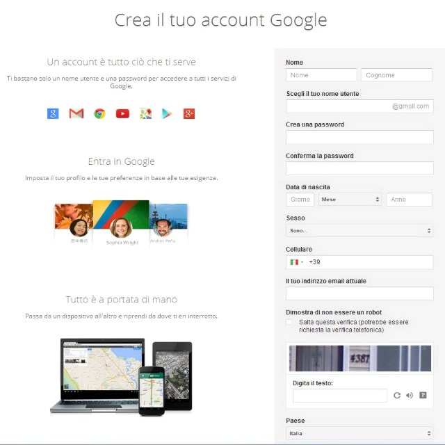 account google attacco hacker 5 milioni gmail violate che