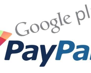 Pagamenti PayPal per Play Store Google finalmente anche per l'Italia 1