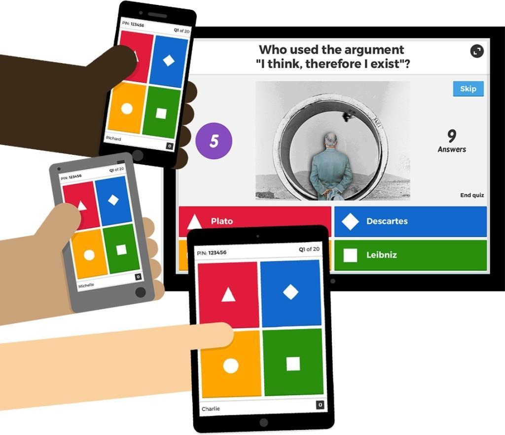 ❓Kahoot Tutorial Italiano 2019 Come funziona Imparare giocando Quiz gratis Didattica Blended Gamification piani Scuola versioni Plus e Pro 1