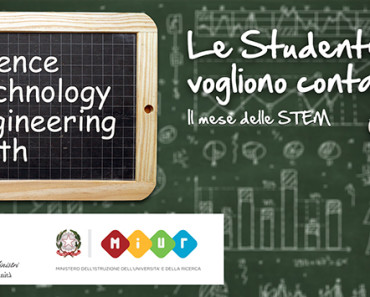 Mese delle STEM 4 discipline Science Technology Engineering Math #mesedellestem 2