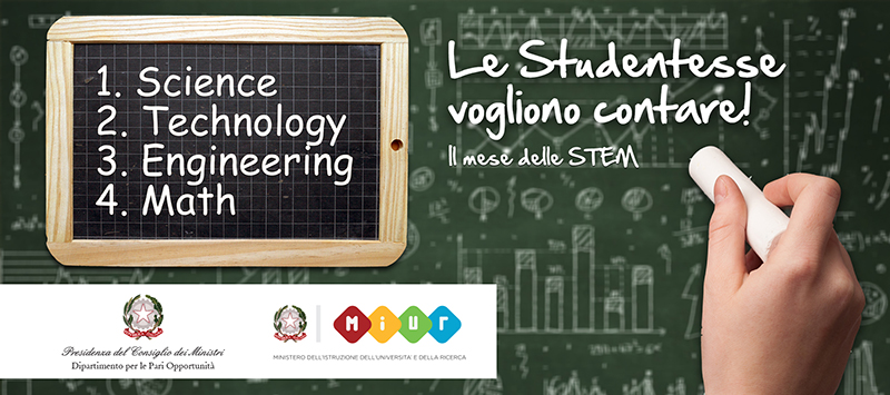 Mese delle STEM 4 discipline Science Technology Engineering Math #mesedellestem 4