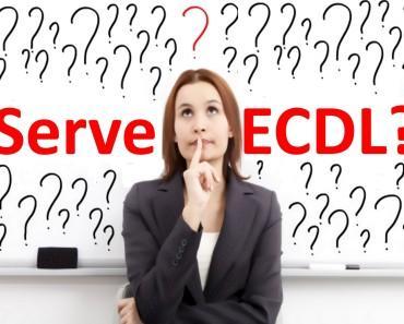 A chi e a cosa serve la ECDL la Patente Informatica Europea del Computer