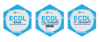 Attestati ECDL Full Standard IT Security Specialised