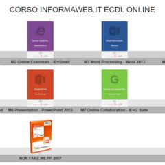 corso aggiornamento informatica base ECDL Update