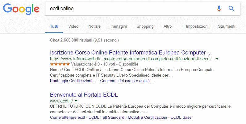informaweb-primi-su-google-ecdl-online