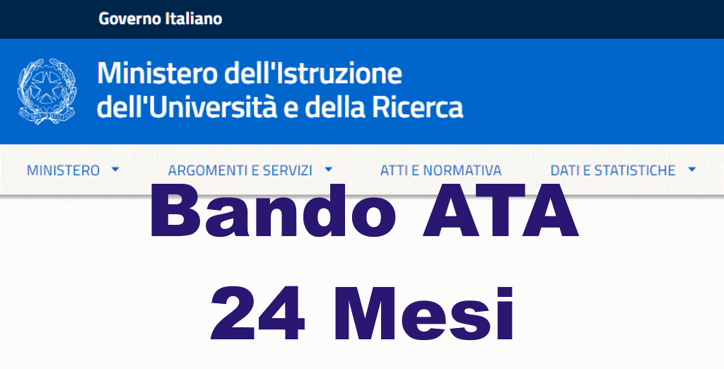 2019 Bando ATA 24 mesi