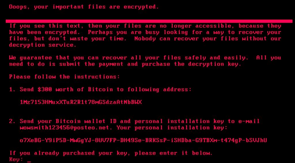 Ransomware-Petya-schermata-file-cripatatti-richiesta-bitcoin