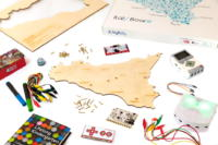 Scheda ItalyBoard per didattica con Makey Makey sui sito UNESCO in Sicilia