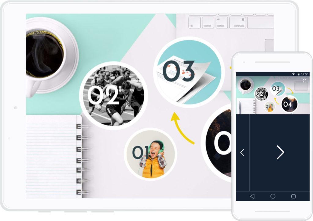 Presentazioni Online Prezi App iPad e telecomando remoto