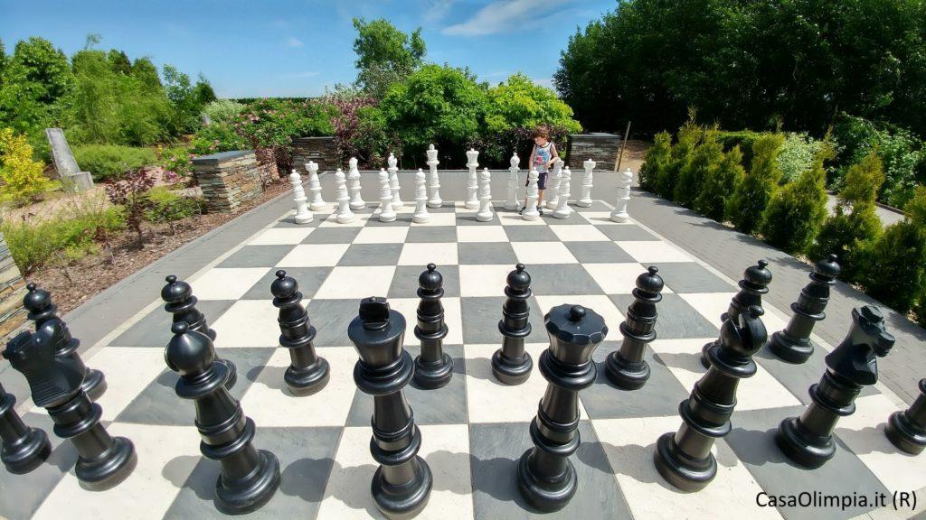 Scacchi per bambini scacchiera gigante da giardino o interni