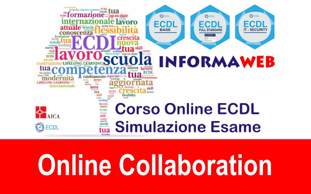 Nuova ECDL Modulo 7 Online Collaboration