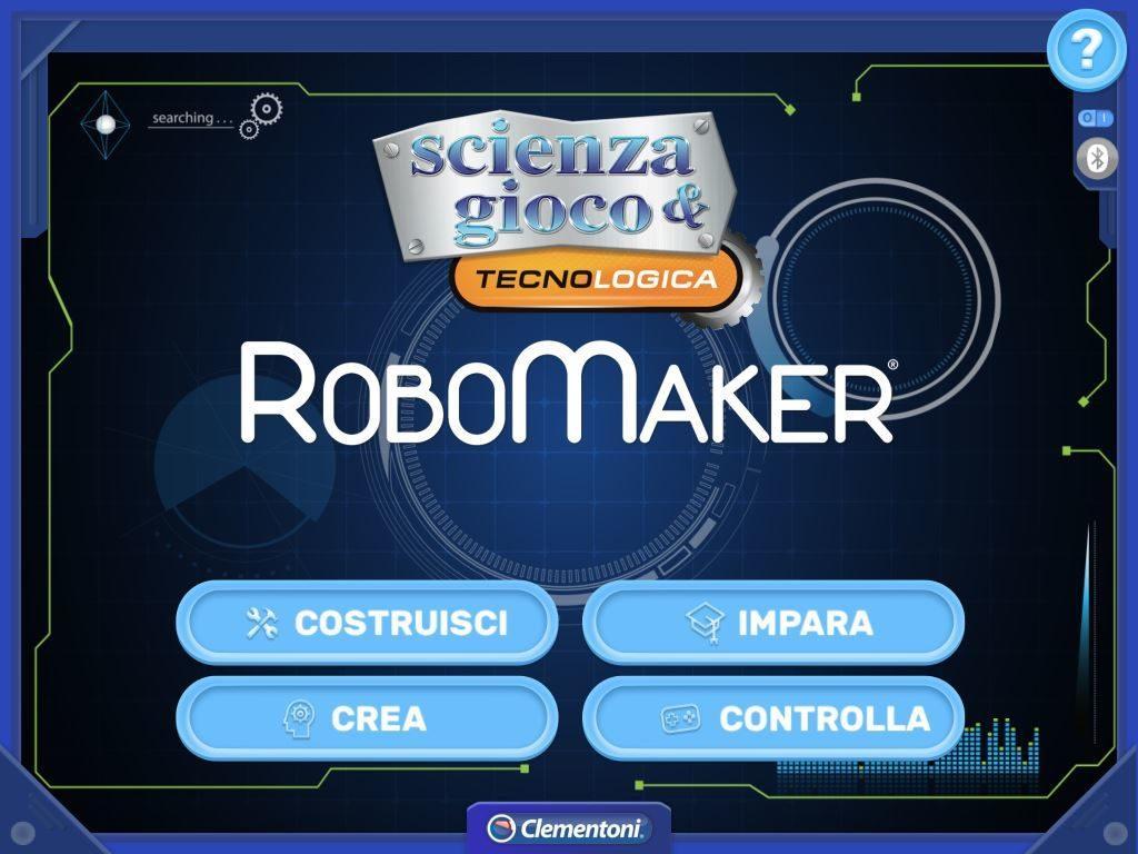 RoboMaker Clementoni APP di controllo