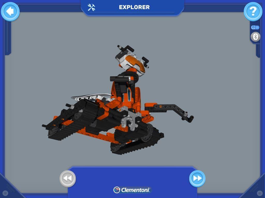 RoboMaker Clementoni APP di controllo costruzione passo passo con vista 3D a colori
