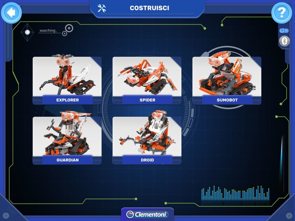 RoboMaker Clementoni APP i 5 Droid realizzabili