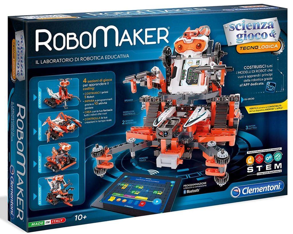 RoboMaker Clementoni il regalo perfetto per la Robotica Educativa e Coding
