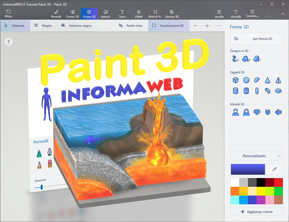 Paint 3D Tutorial