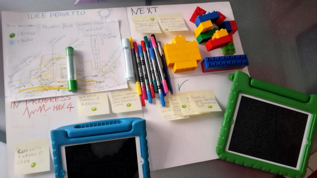 Agile con Minecraft e iPad