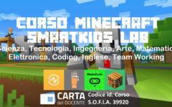 ⛏️Imparare giocando con Minecraft STEM Scienze Tecnologia Matematica Coding Corsi per bambini 8+