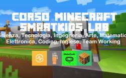 ⛏️ Corso Minecraft Didattica Problem Solving STEM Coding Soft Skills