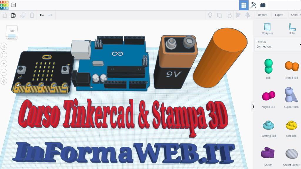 🧵 Corso Stampa 3D Online Guida Tinkercad Stampa 3D per Bambini Didattica Scuola 9