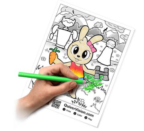 App Quiver per dare vita ai disegni colorati dai bambini